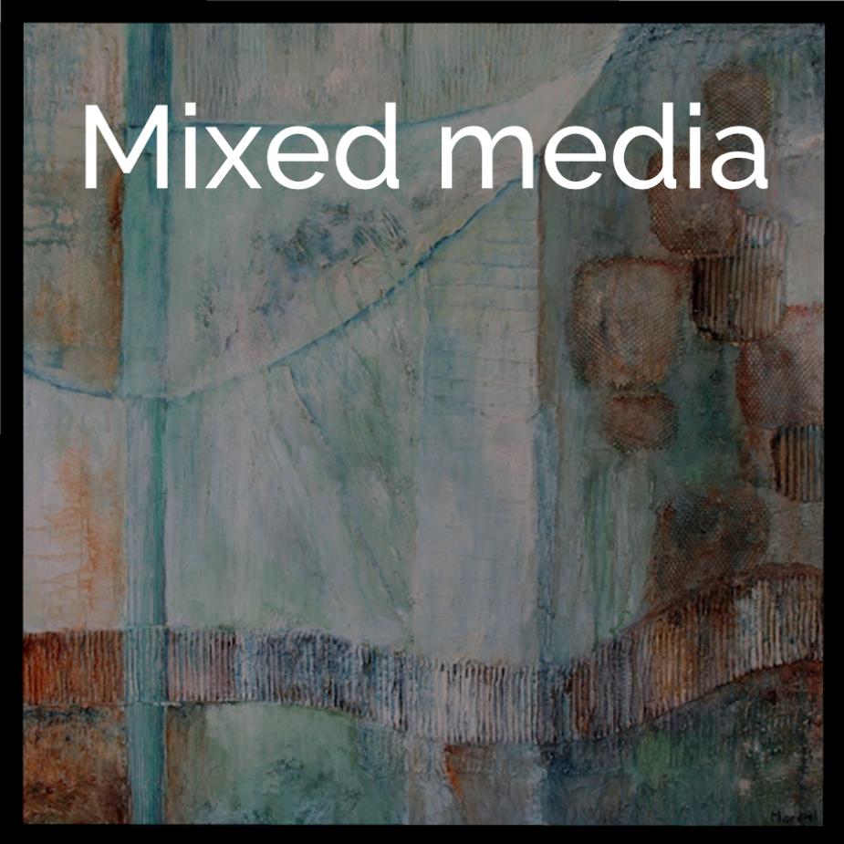 button Mixed Media
